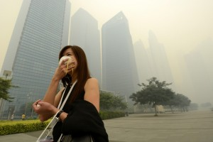Smog in Südostasien