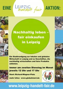Stadtrundgang: Nachhaltig leben, fair einkaufen in Leipzig – findet jetzt regelmäßig statt