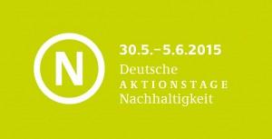 Deutsche Aktionstage Nachhaltigkeit und Leipziger Umwelttage – Wir und die Welt ist mit dabei